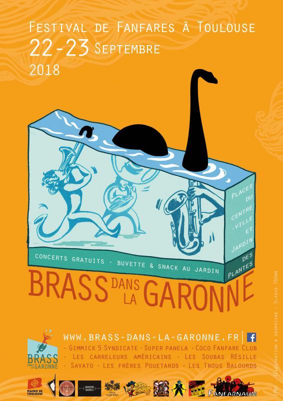 Brass dans la Garonne