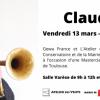 Masterclass avec Claude Egea