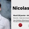 Master class avec Nicolas Chatenet